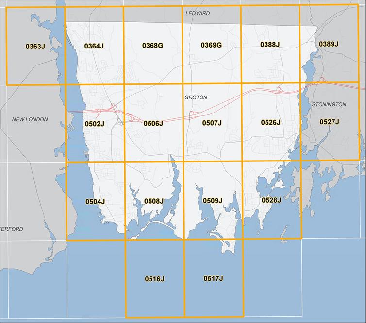 Town Of Groton CT FEMA Flood Maps - Fema map viewer